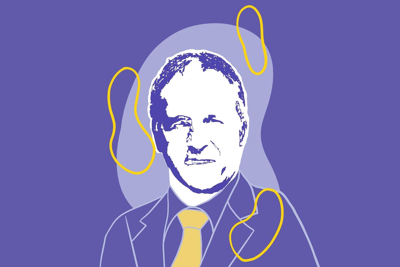 Tekening van Jan van Ewijk, Centrale Cliëntenraad
