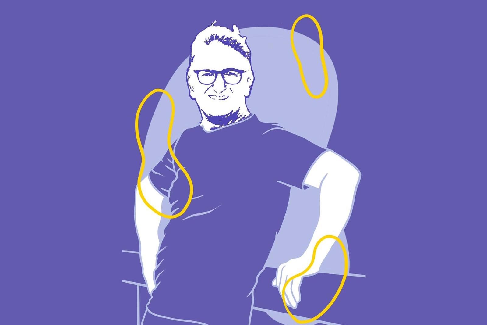 Tekening van Guy Heesakker, Noord-Holland Noord